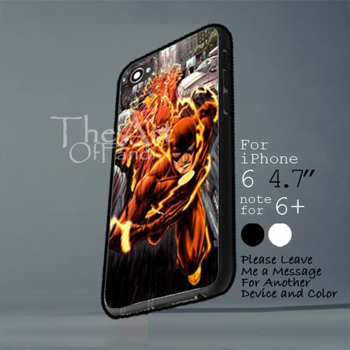 the flash superhero comic Iphone 6 note for  6 Plus