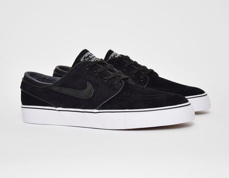 #Nike SB Zoom Stefan Janoski Black #sneakers