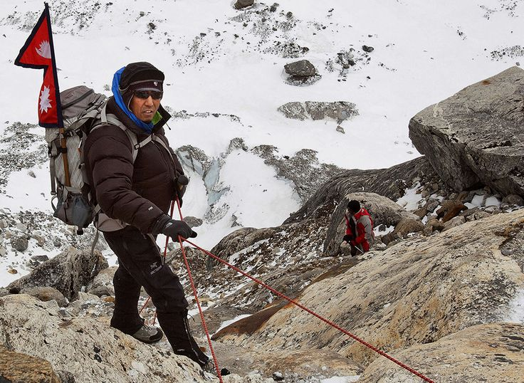 The world's most renowned Sherpa talks Mt. Everest