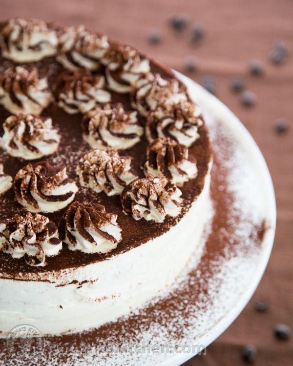 Learn how to make the Best Tiramisu Cake with this Video tutorial from Natashaskitchen.com