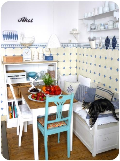 download sitzecke in der kuche 17 ideen bilder | villaweb, Kuchen deko