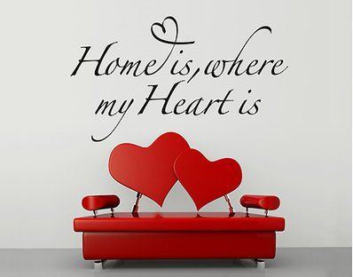 No.BR255 home is where my heart is
