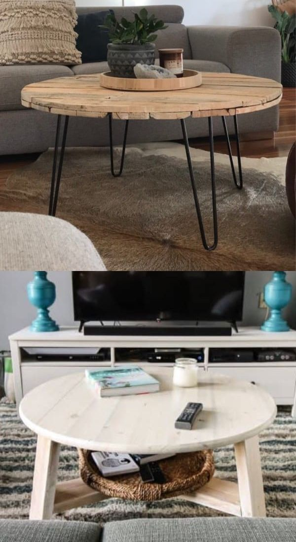Best Diy Coffee Table Ideas For 2019 Cheap Gorgeous Crazy