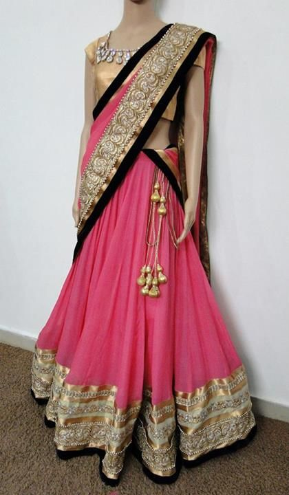Maybe a good idea for the pink sari