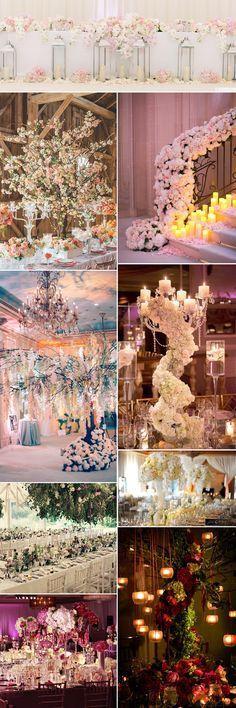 Extravagant wedding decor ideas on GS Inspiration - Glitzy Secrets