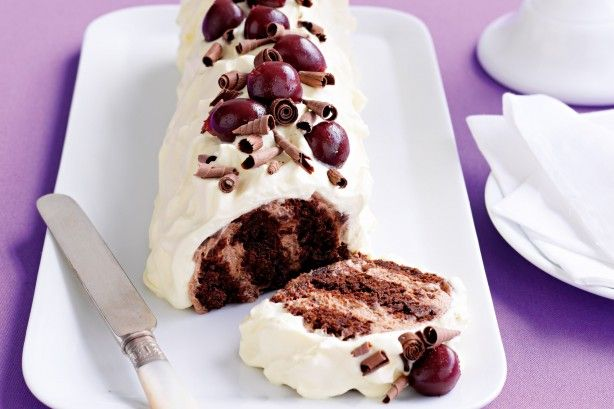 Black forest choc ripple cake main image