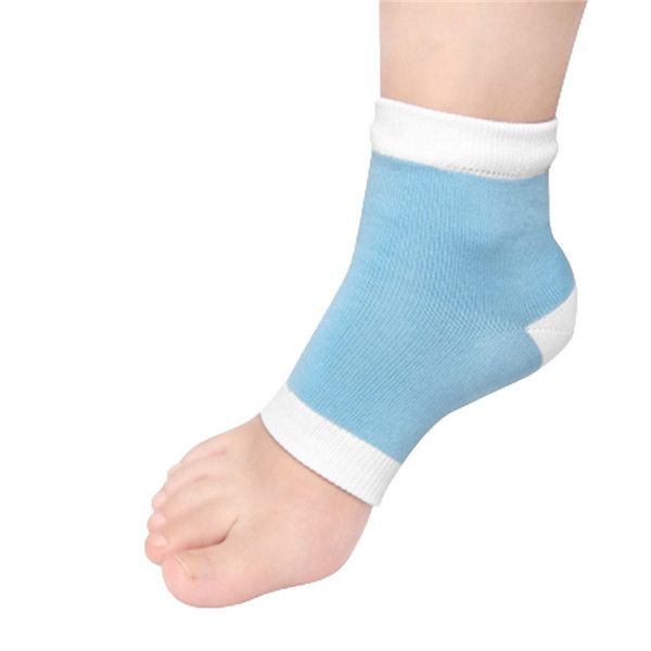 1pair Gel Heel Socks Moisturing Spa Gel Socks feet care Cracked Foot Dry Hard Skin Protector Hot Selling