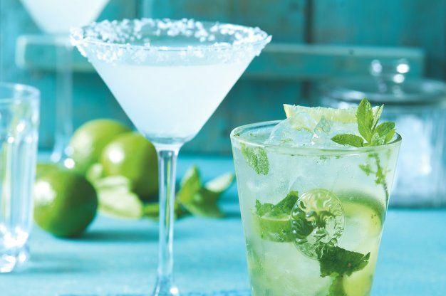 Margarita a kubánské mojito