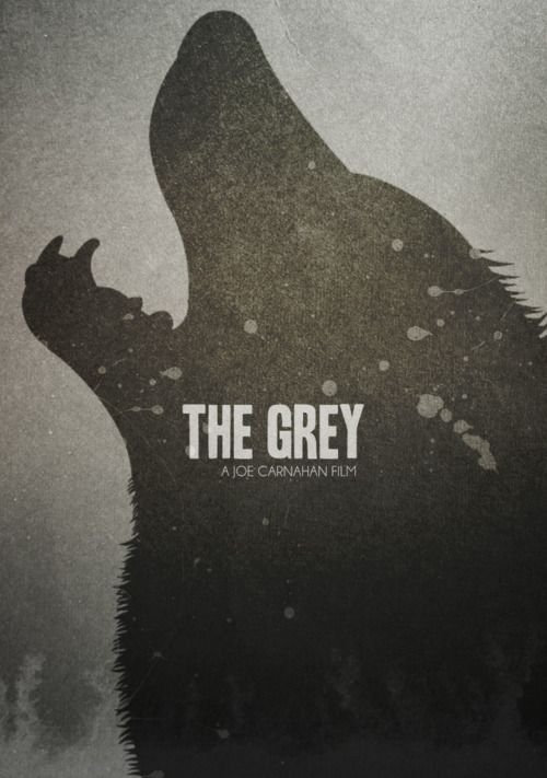 The Grey by Brandon Michael Elrod  The movie is a horrible betrayal of actual wolves. But I love this poster