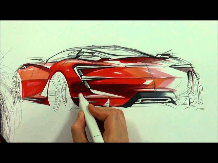 자동차 스케치 & 디자인