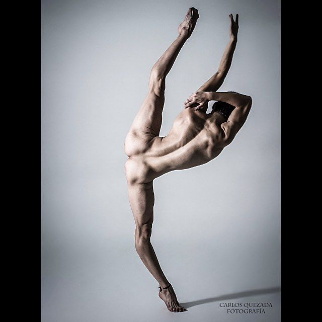 Dancer naked male ballet