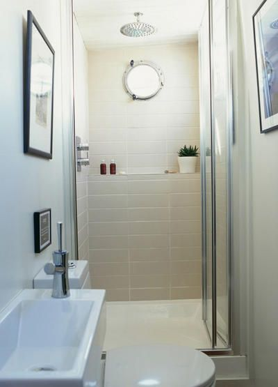 The 25 best small narrow bathroom ideas on pinterest - Narrow toilets for small bathrooms ...