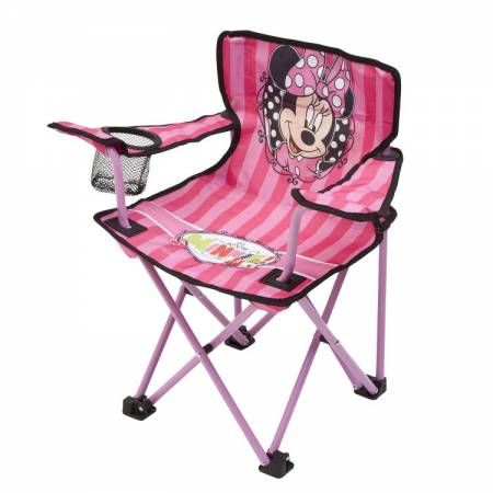 Minnie Mouse camping chair  Check it out on: https://tjengo.com/tvhavestrandstole-til-born/411-minnie-campingstol.html