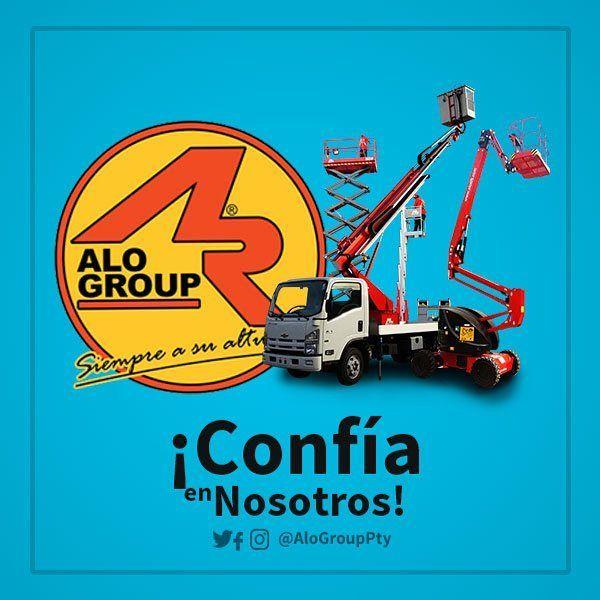 Te damos soluciones prontas a tus problemas de altura! Contáctanos!  #AloGroup #Maquinaria #Panama #Chile #Carga #construccion