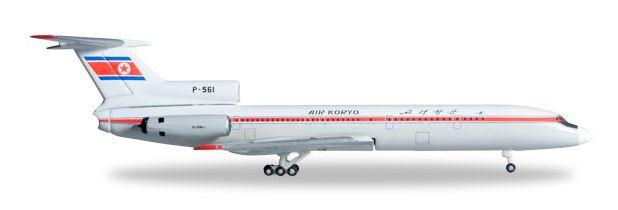 1/500 Herpa Air Koryo Tupolev TU-154B-2 Diecast Model