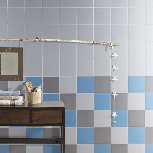 carrelage mural astuce en fa ence bleu baltique n 3 20 x 20 cm id es pinterest ps et. Black Bedroom Furniture Sets. Home Design Ideas