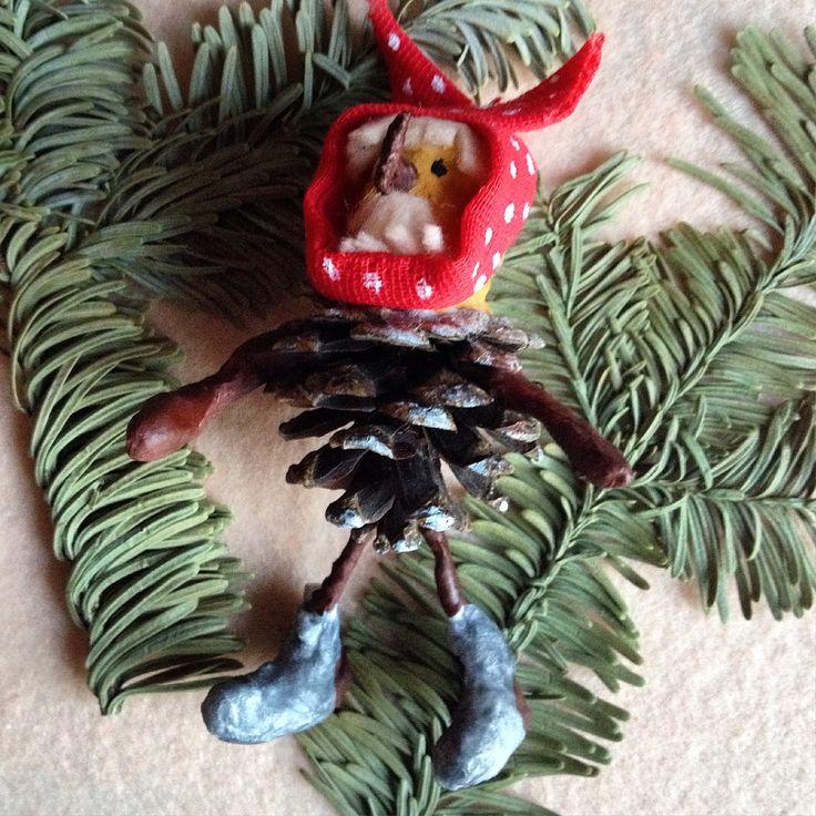 """Чудище Снежище из """"Новогодней сказки"""".Елочная игрушка"""