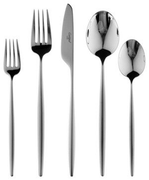 Cutipol Solo Cutlery - 5pc Setting - Cutipol modern flatware