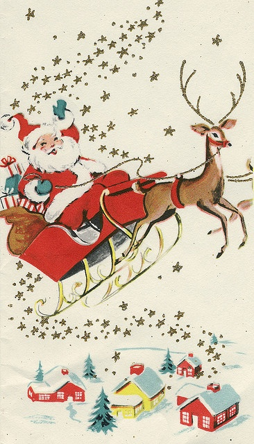 The Art of Children's Picture Books: Santa Claus is Coming to Town...