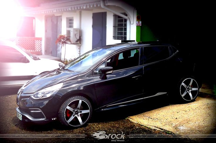 Renault Clio RS Brock B35 SMVP #Renault #Clio #RS #Brock #Brockwheels #Wheels #Felge #Tuning #Car #Vehicle #Alloywheel