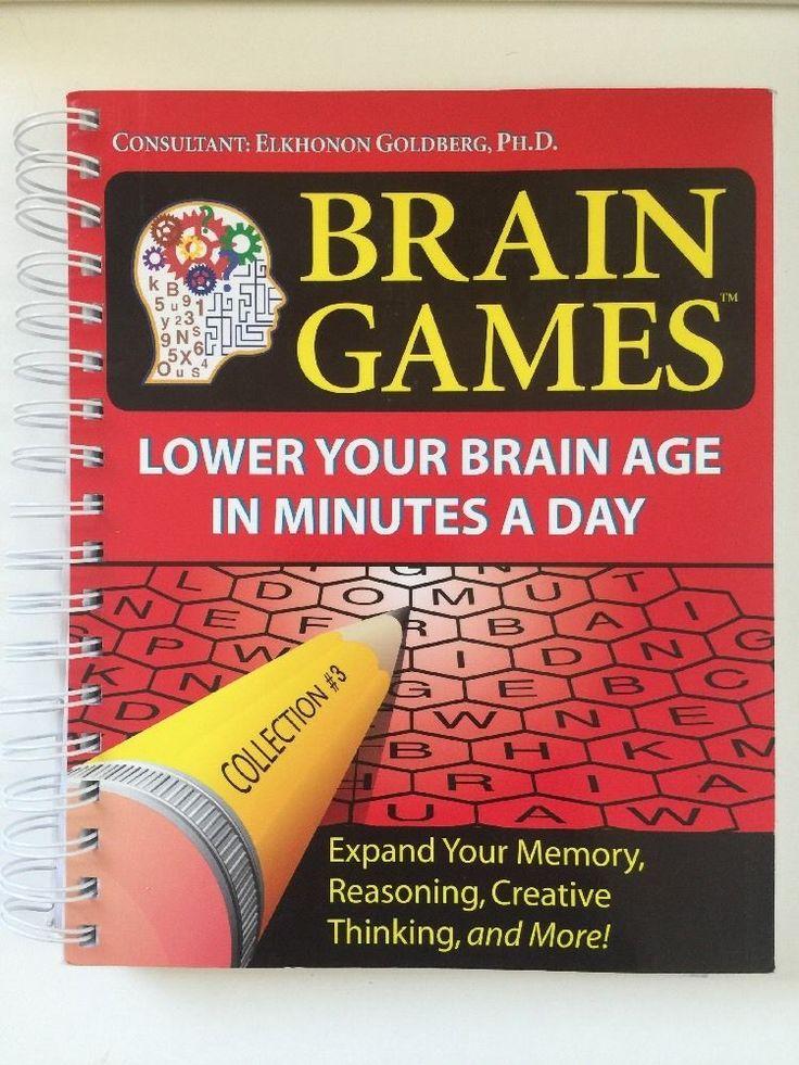 Brain Games Elkhonon Goldberg Spiral Book Expand Memory