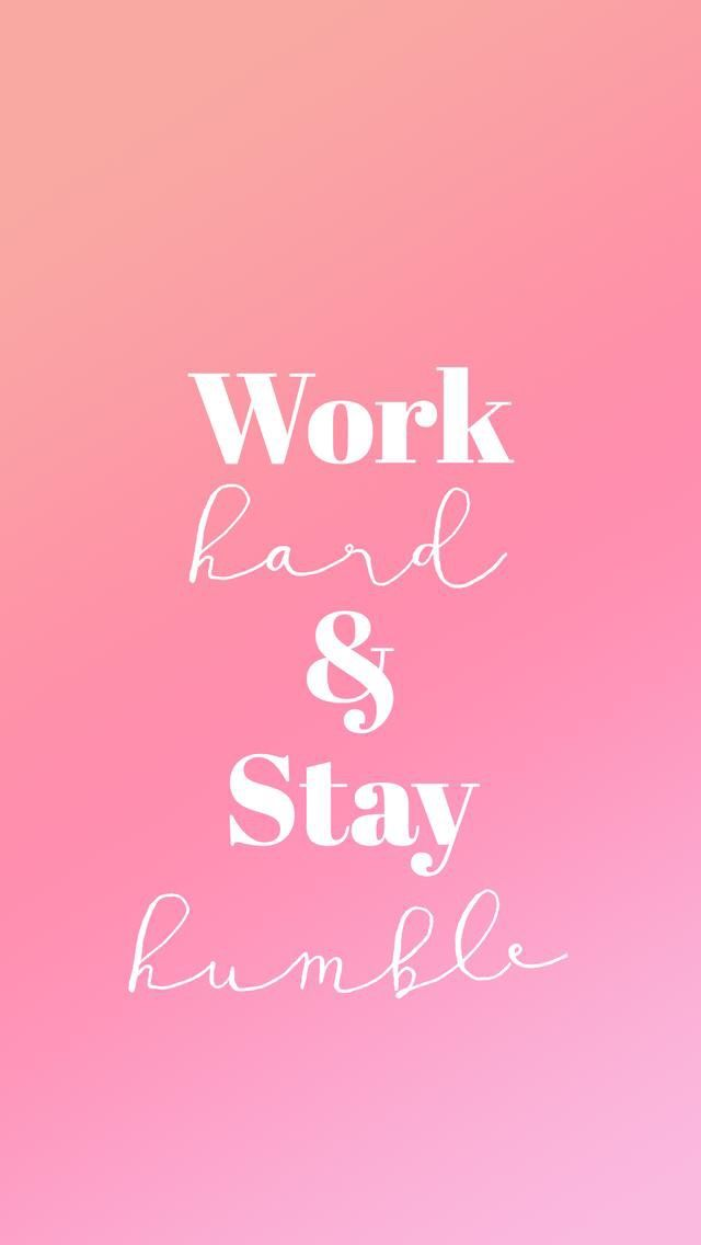 Best 25 plain pink background ideas on pinterest pink - Stay humble wallpaper ...
