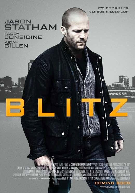 Blitz (2010) GB Lionsgate Crime thriller. Jason Statham, Paddy Considine, Aidan Gillen, Mark Rylance. 09/04/15
