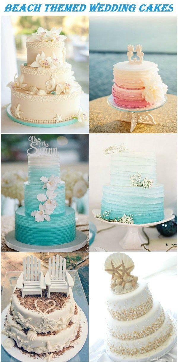 Beach Themed Wedding Cakes Designs Custom Cakes Destin Beach