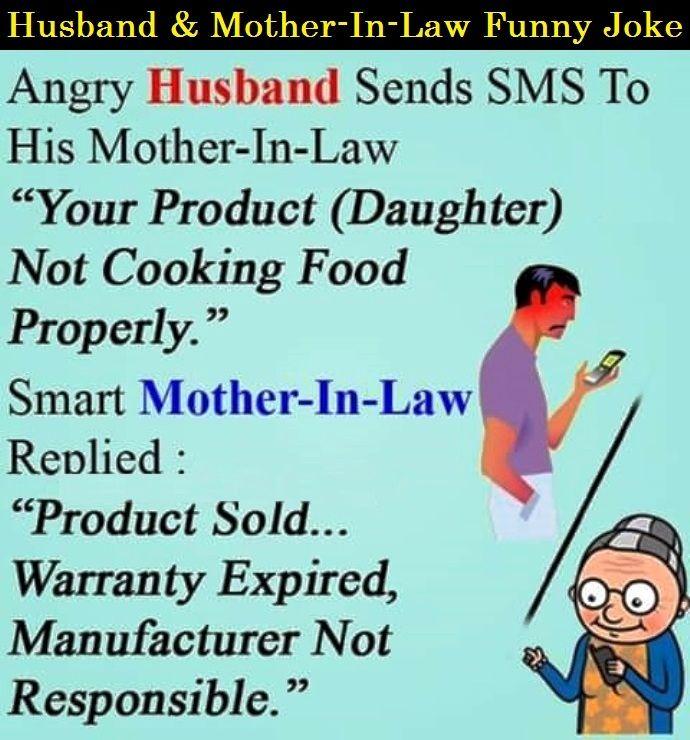 Husband & Mother-In-Law Funny Joke   Best Funny Jokes ...