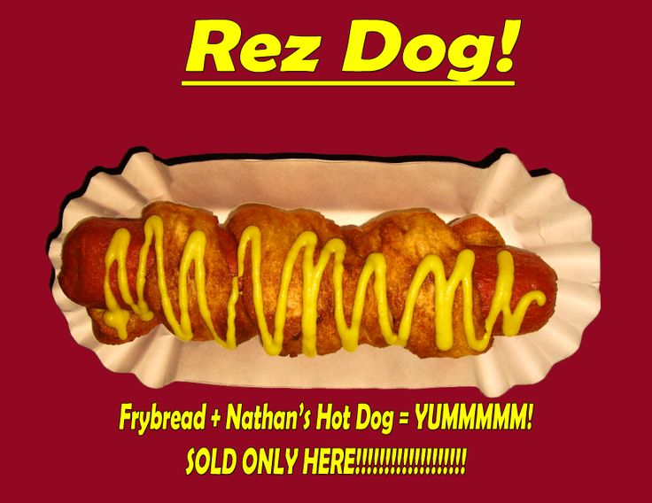 Hot Dogs Wrapped In Fry Bread