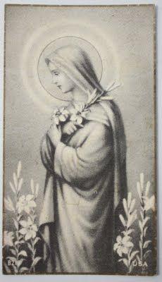 Hail Mary, full of grace.