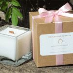 Honeysuckle Jasmine Cube Candle