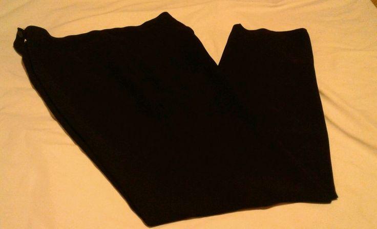 Navy Dress Casual Career Pants Slacks Sz 8 Straight Leg Women's Ladies   eBay