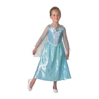 Disney Frozen Elsa jurk met muziek en licht - maat 128/140  Ga verkleed als de Elsa uit de bekende Disney film Frozen. De jurk maakt geluid en geeft licht.  EUR 38.99  Meer informatie