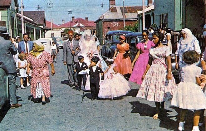 Wedding in District Six, 1960