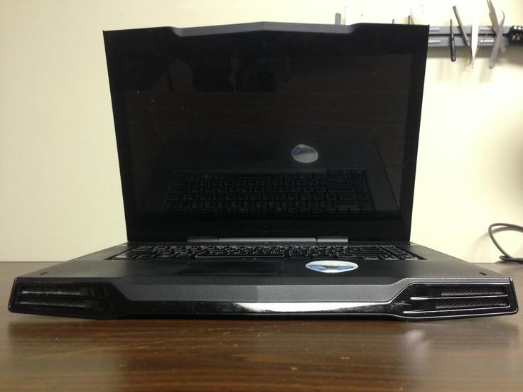 Alienware laptop on pcnix bench in toronto http://www.pcnix.ca/alienware-laptop-computer-repair-toronto/  416-223-2525