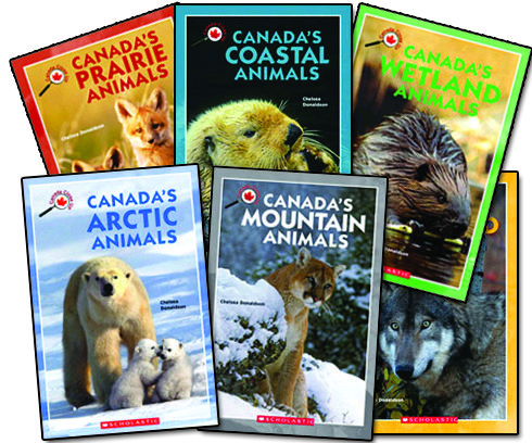 Canada Close Up: Canada's Animals Bundle - Northwoods Press