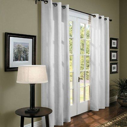 Curtains Panel Curtains And Patio On Pinterest