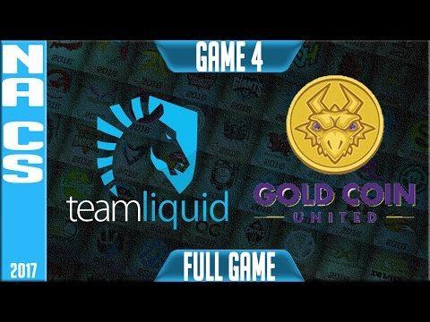 Team Liquid vs Gold Coin United Game 4 - NA Promotion Tournament Round 2 Summer 2017 - TL vs GCU G4