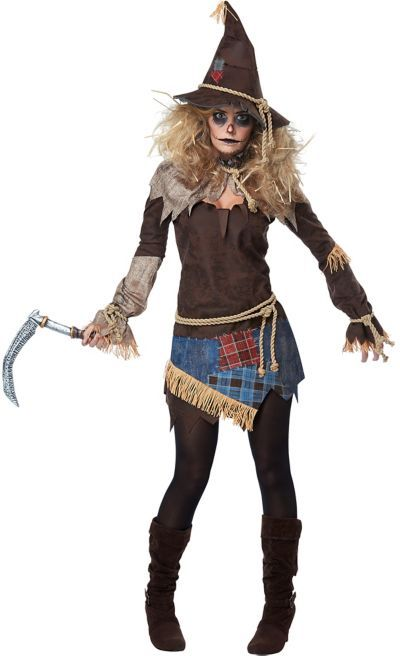 Shop for Womens Creepy Scarecrow Costume and other Women s Halloween  Costumes online at PartyCity.com. Save with Party City coupons and specials. ca2a645a2e