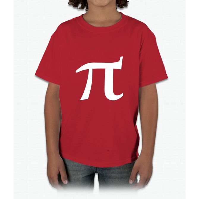 Pi symbol for pi day Young T-Shirt