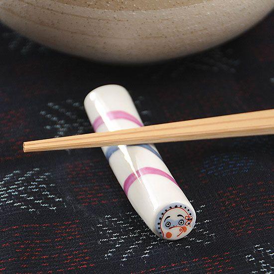 金太郎飴(ひょっとこ)箸置き - 箸置き専門ショップ 箸まくら