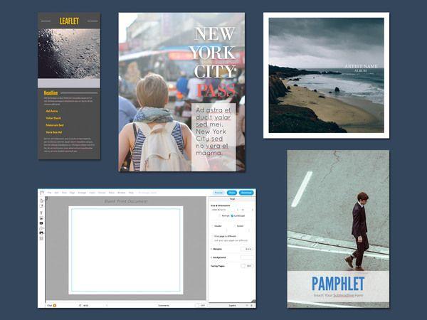 25+ ide terbaik tentang Brochure maker di Pinterest - free pamphlet