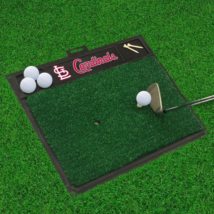 """MLB - St. Louis Cardinals Golf Hitting Mat 20"""" x 17"""""""