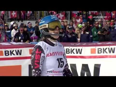 Veronika Velez Zuzulova 2nd run SL WC Lenzerheide