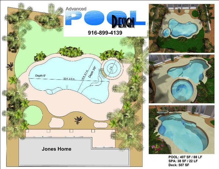 Advanced Pool Design, Swimming Pool Design, Swimming Pool Plans, Custom Swimming Pool Designs