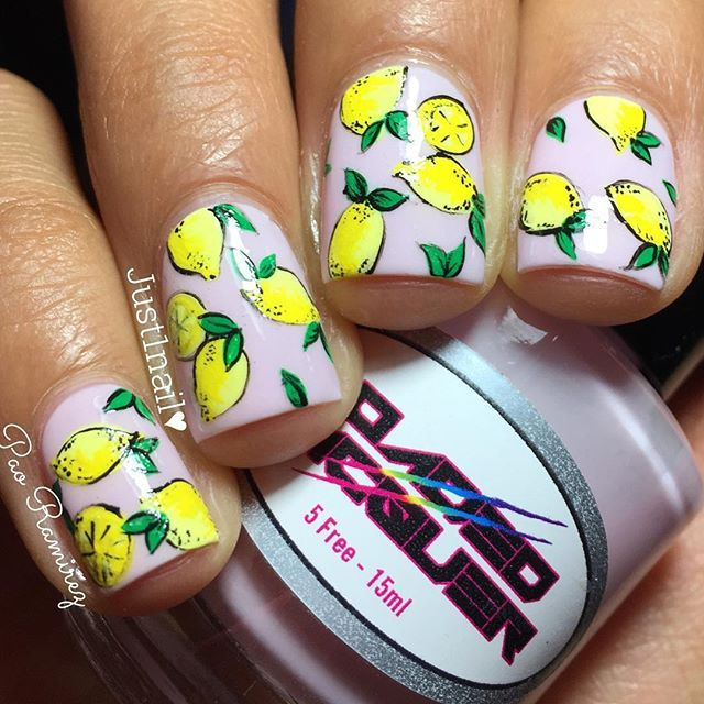 Lemon nails