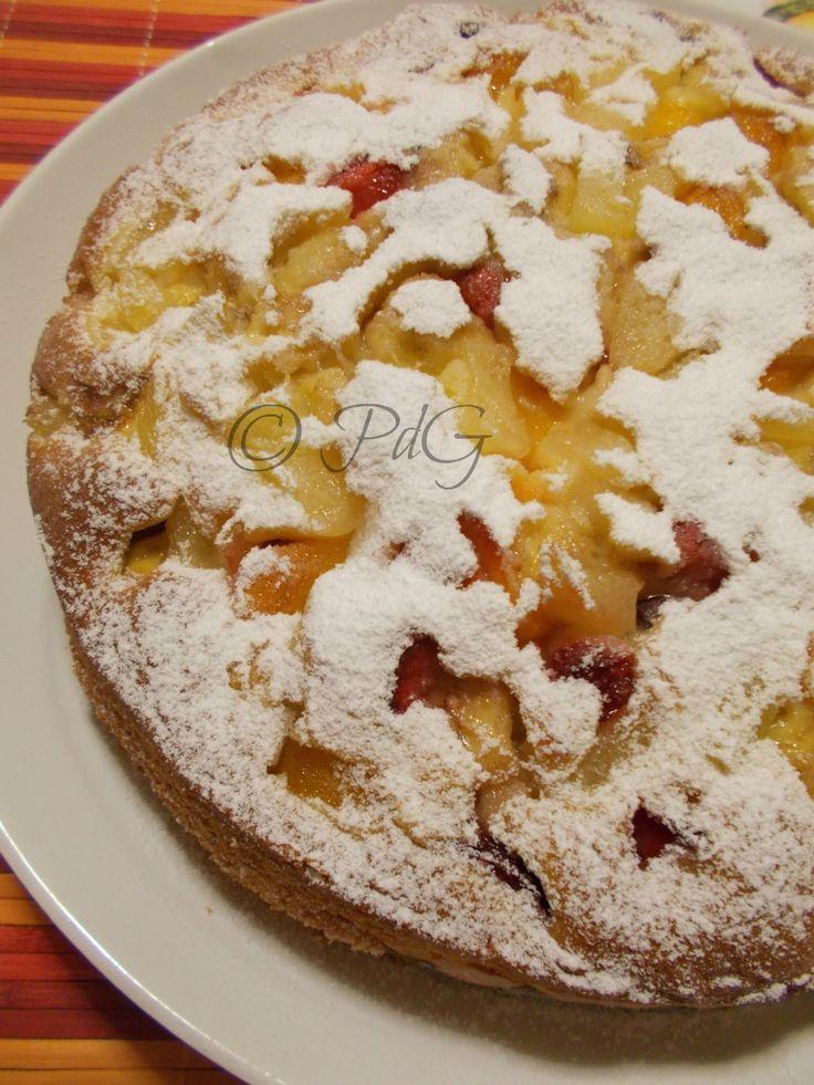 Come colazione la torta soffice alla frutta di stagione è ottima e adatta ai più…