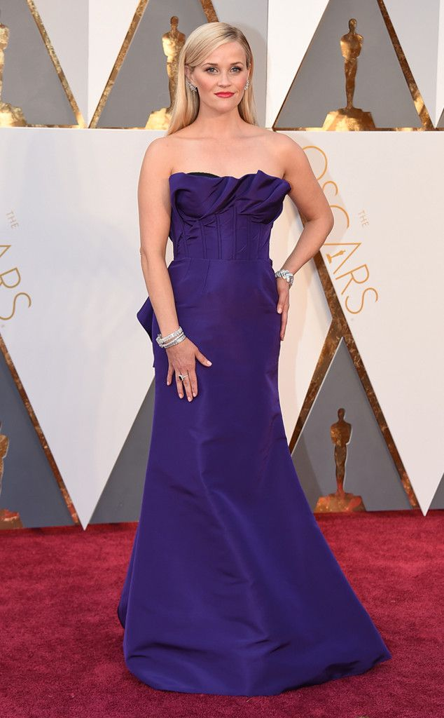"""Reese Witherspoon from Todd Chrisley's Take on the 2016 Oscars  """"Yes Reese, we know who you are and I've loved you forever, but you're better than this Nashville ball gown."""""""