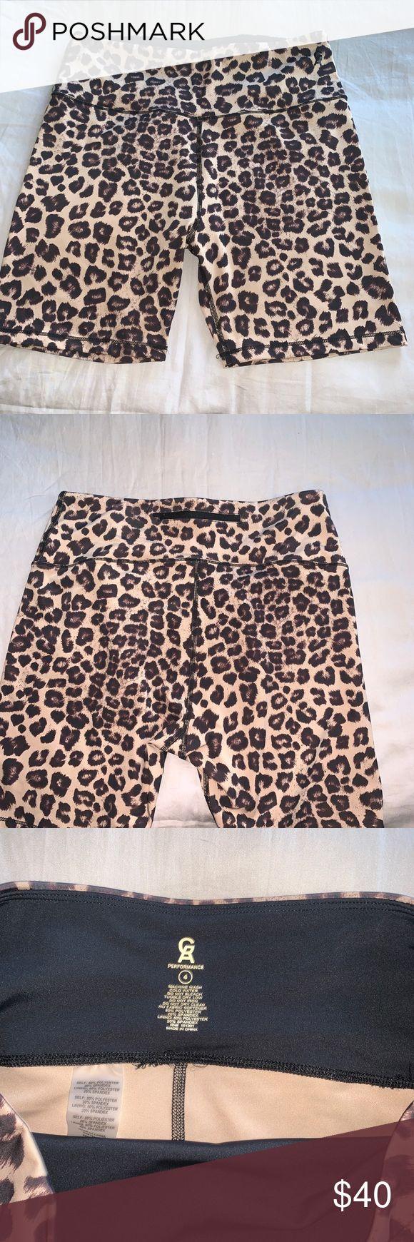 Good American leopard biker shorts Brand new never been worn leopard print biker…   – My Posh Picks
